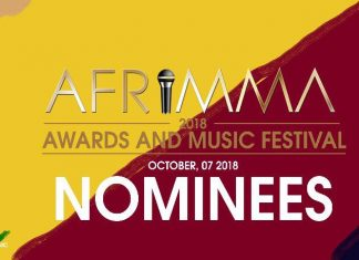 AFRIMMA 2018 AWARDS & MUSIC FESTIVAL NOMINEES LIST