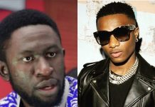 Osagie Alonge apologizes to Wizkid