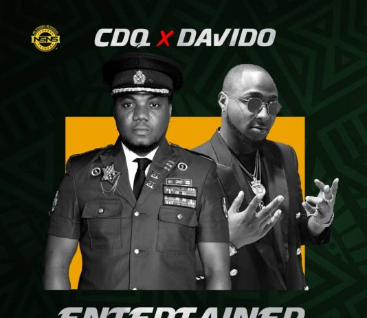 CDQ - Entertainer Ft. Davido