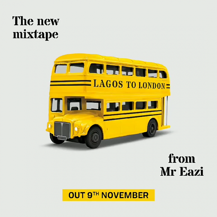 Mr Eazi Lagos To London tracklist