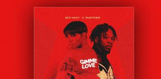 Seyi Shay X Runtown - Gimme Love