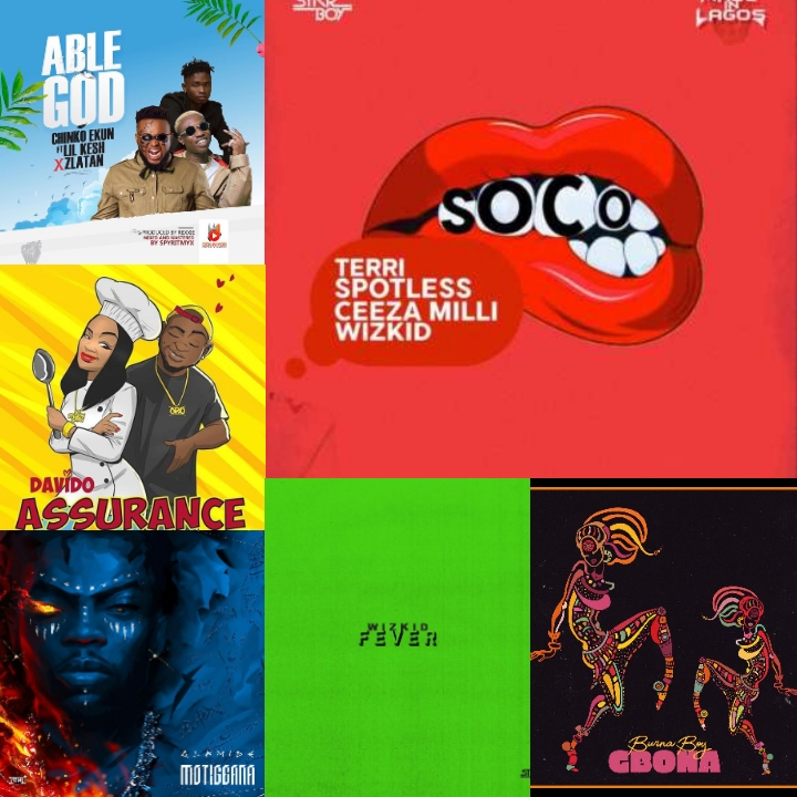 Top 20 Best Nigerian Songs Of 2018