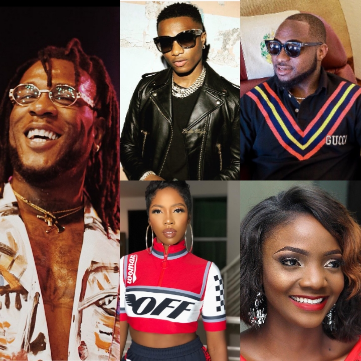 Top 10 Hottest Nigerian Artistes Of 2018