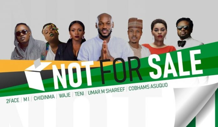 2Baba, MI Abaga, Teni, Chidinma, Waje, Umar M Shareef & Cobhams Asuquo – Not For Sale