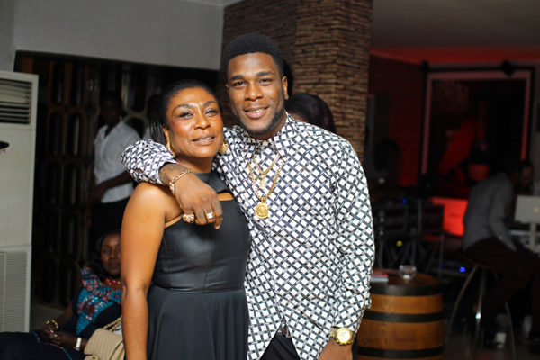 Burna Boy and Mother