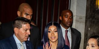 NEW YORK, NY – JUNE 25: Cardi B leaves her arraignment on two felony assault counts and other misdemeanors at Queens County Supreme Court June 25, 2019 in the Queens borough of New York City.