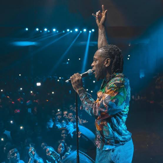 Watch Burna Boy Freestyle 'COLLATERAL DAMAGE' on VEVO CTRL