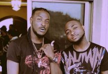 Davido and Peruzzi. [CREDIT: Guardian]