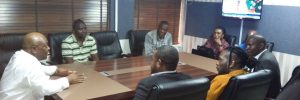 PHOTOS: Burna Boy Officially Appears At The Police Station