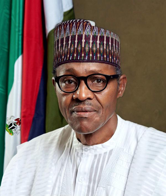 buhari official portrait