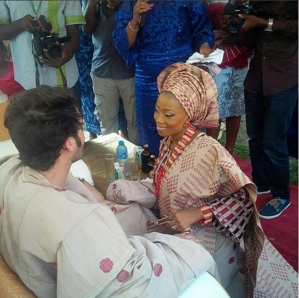 Image result for tosyn bucknor wedding