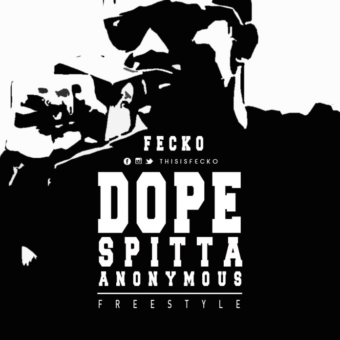 fecko dope spitting ass