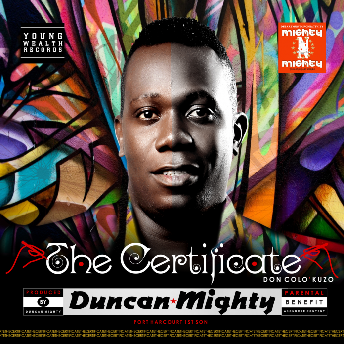 duncan mighty the certificate