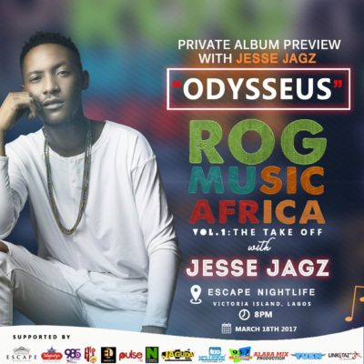 Jesse album preview at ROG Music Africa