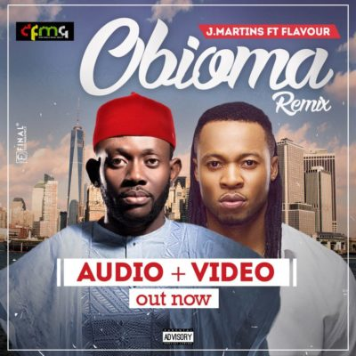 J.Martins - Obioma (Remix) Ft. Flavour