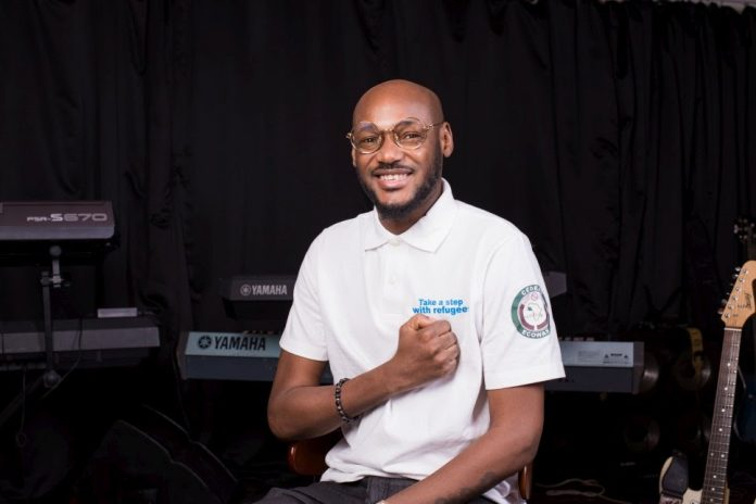 2Baba newly appointed UNHCR Goodwill Ambassador