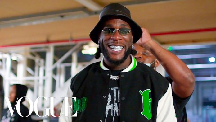 BURNA BOY 24 HOURS VOGUE