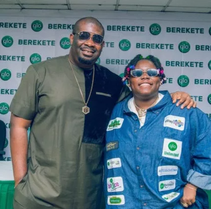 Don Jazzy and Teniola.
