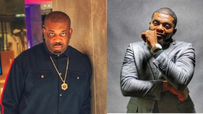Don Jazzy and Kelly handsome
