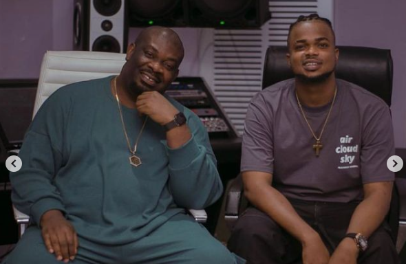 Don Jazzy and music producer Rexxie