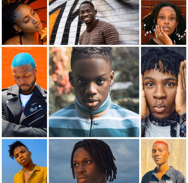 Young Nigerian musicians
